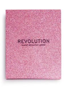 REVOLUTION Pressed Glitter Palette Diva 1