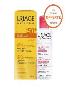 Uriage promo bariésun + eau micellaire PS